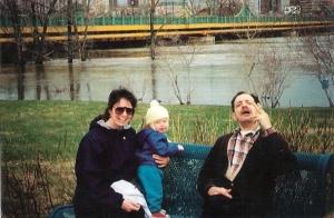 Flood of 1997 - Mom, Jorid, Ovi